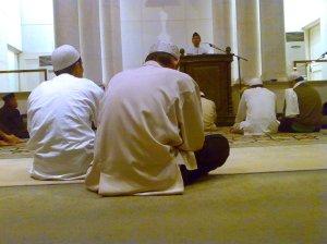 Kultum Subuh di Masjid BI