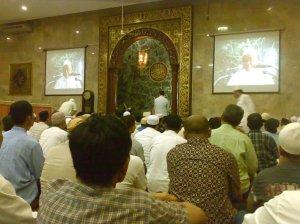 Traweh di Masjid Sunda Kelapa