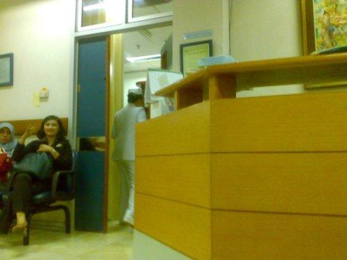 Ruang Tunggu Praktek Dokter Umum RSPP