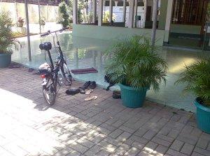Jildhan-29 ngaso di mesjid Jl. Cempaka