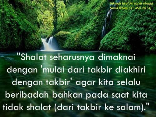 Hikmah Isra Miraj - Shalat