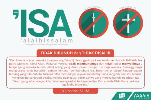 Isa Tidak Dibunuh