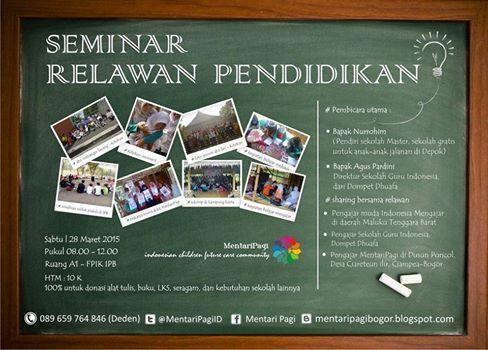 Seminar Relawan Pendidikan0