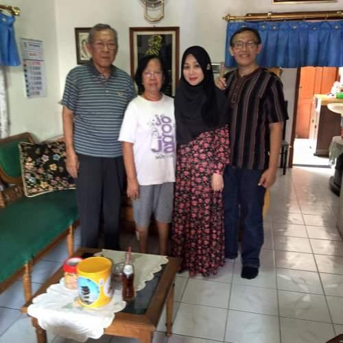 Silaturahim di rumah Bulik Abdulhadi, bersama mas Andi dan Dik Sri Utami