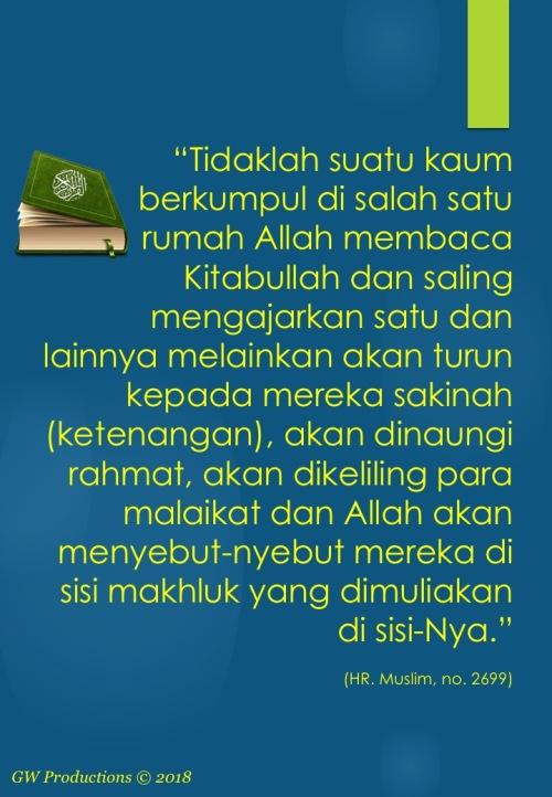 Hadits Muslim 2699 - 30Mei2018