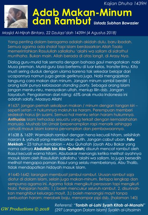 USB Al-Hijrah 4Aug2018