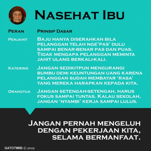 Nasehat Ibu 3Jul2019