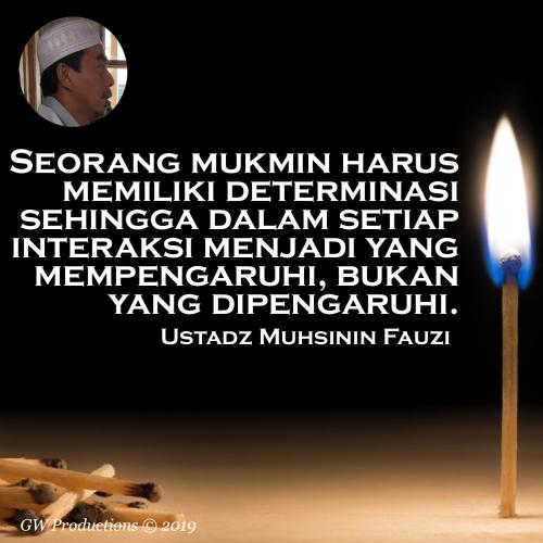 Determinasi - Muhsinin Fauzi 19Aug2019
