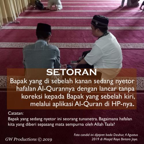 SETORAN - Masjid Raya Bintaro 15Aug2019
